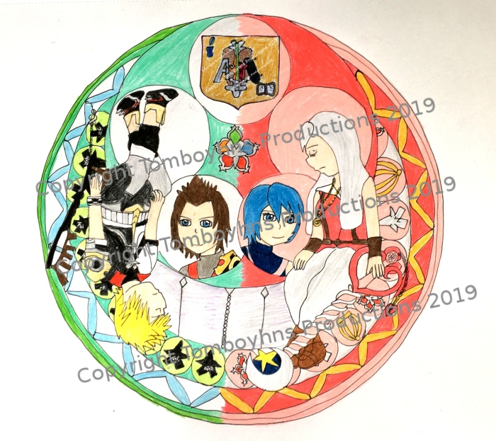 Kiera and Ventus Stained Glass w Coat of Arms Watermarked.jpg